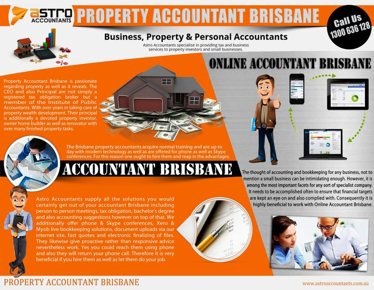 It is critical that your tax return is accurate and even if it is completed by someone else, you are still the one who is legally liable for any errors. Browse this site http://astroaccountants.com.au for more information on Property Accountant Brisbane. It is therefore essential that you choose the Property Accountant Brisbane for the job.Follow Us http://propertyaccountantbrisbane.wordpress.com