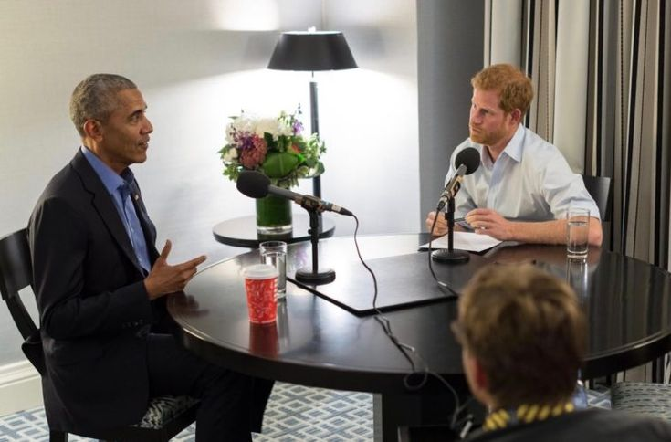 Prince Harry's Full Barack Obama Interview Airs: '44' Talks Trump Election Day, Reckless Tweeting & More | EURweb