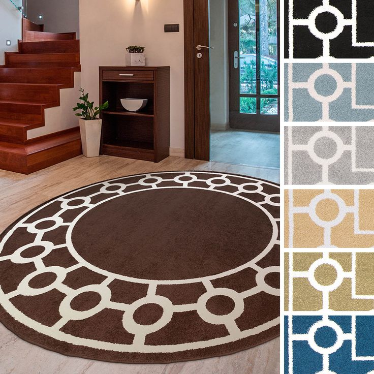 Meticulously Woven Rancho Transitional Geometric Area Rug