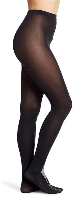 Wolford Precious Studded Opaque Tights