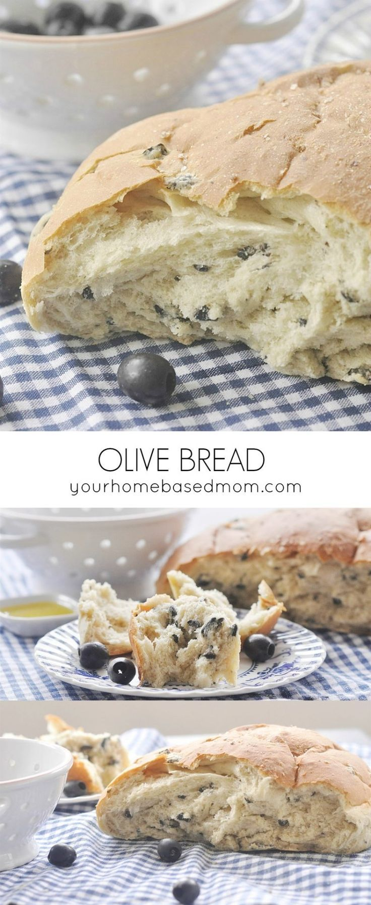 Olive Bread Side Recipe - Olive Breadis the perfect thing to serve with a big green salad or a delicious pasta meal, or just about anything!