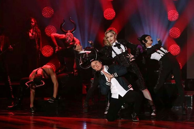 Ellen DeGeneres  & Madonna  at her show :-$