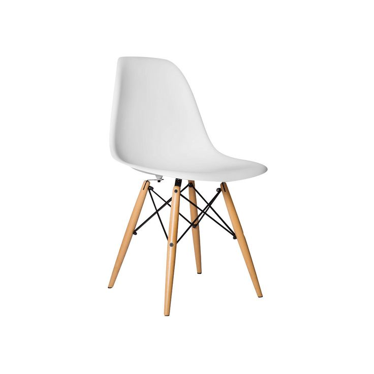 Chelsea DSW Side Chairs - Set of 2 (White)