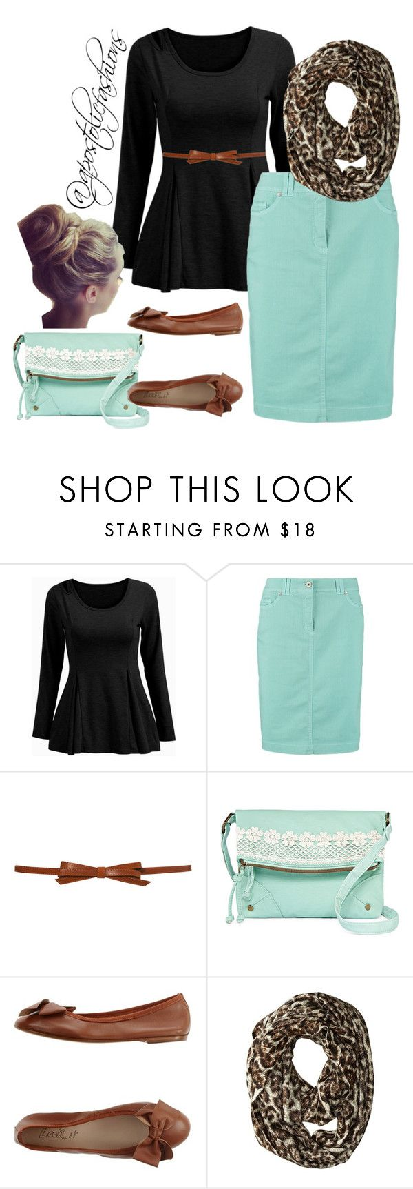"""Apostolic Fashions #1113"" by apostolicfashions on Polyvore featuring Gerry Weber Edition, T-shirt & Jeans, Look.it and MICHAEL Michael Kors"