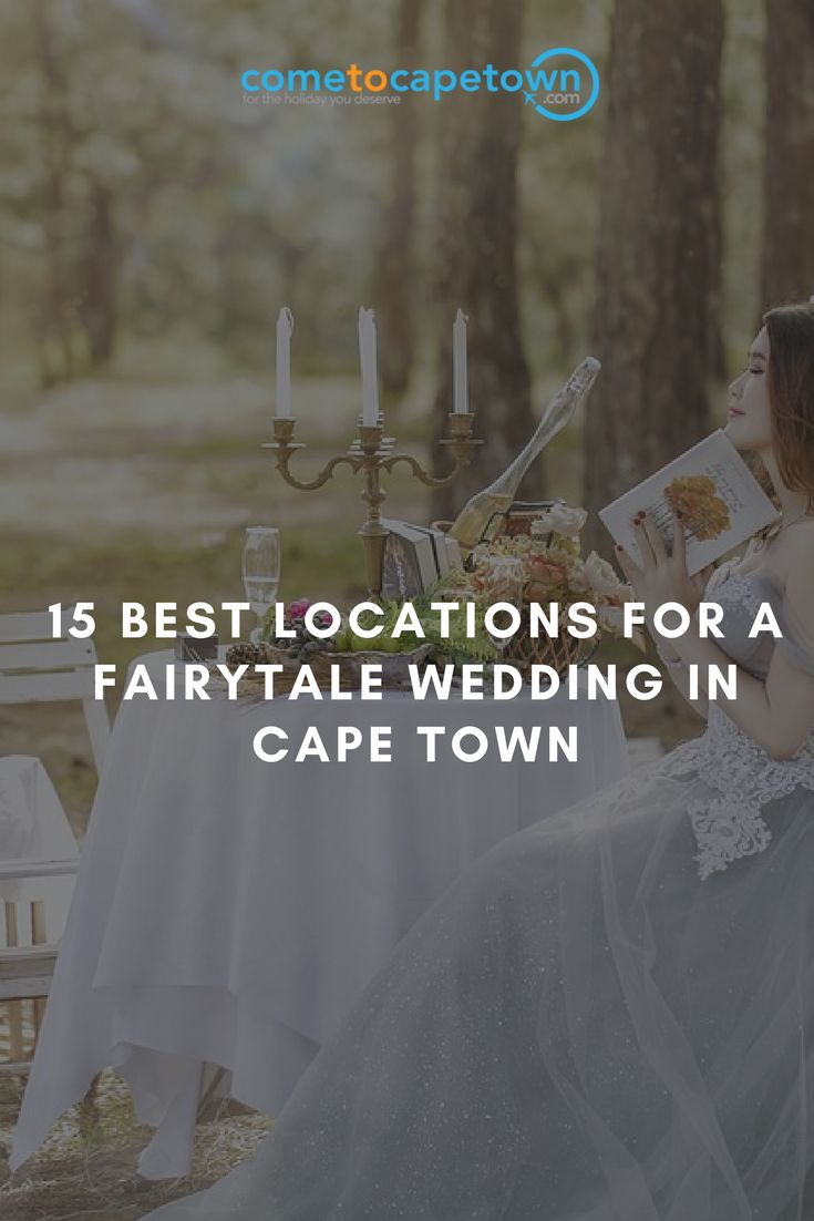 To help you find the best of the best, we have hand-picked 15 of the most dreamy destinations for planning your wedding in Cape Town. Keep reading to find out which venues made the cut.