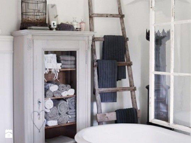Szafka łazienkowa, czyli gdzie przechowywać ręczniki - Łazienka, styl rustykalny - zdjęcie od Conchita Home