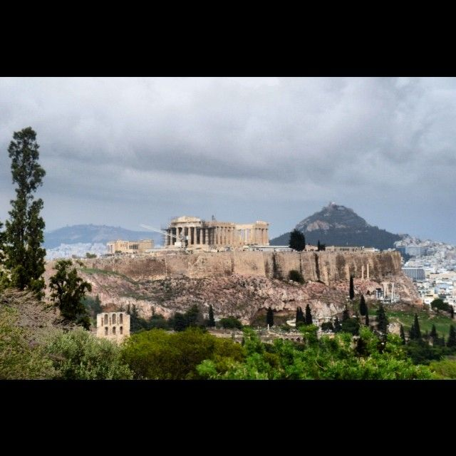 The #Acropolis of #Athens. Photo taken by @jesusmecha