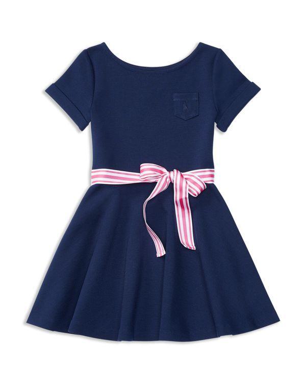 Ralph Lauren Childrenswear Girls' Knit Dress - Sizes 2-6X