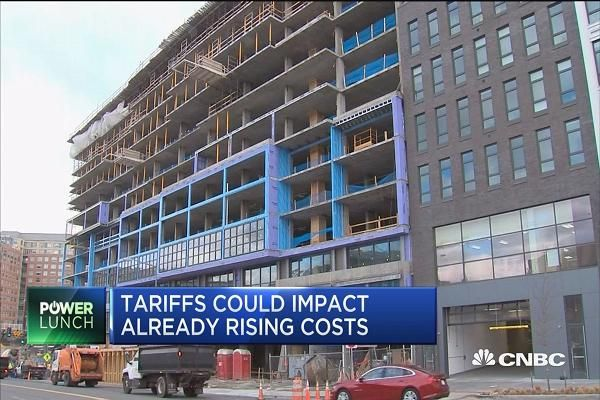 Tariffs could impact already rising construction costs