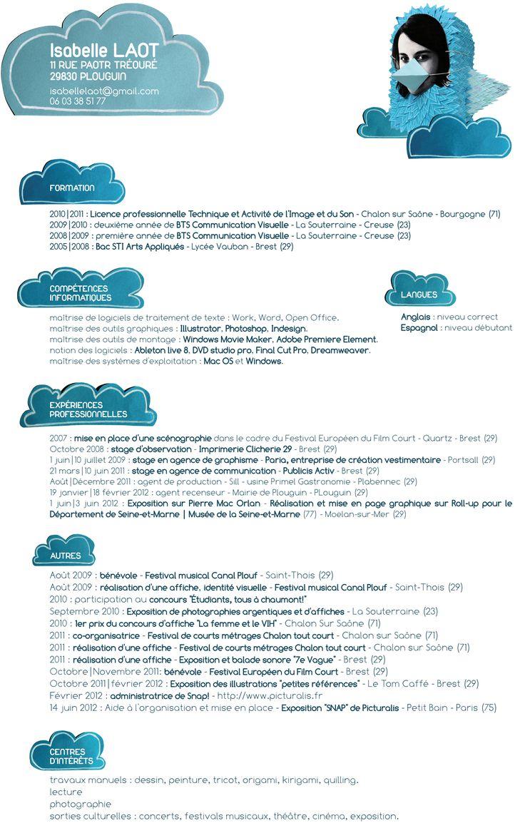 25 best cv images on pinterest resume ideas resume and cv design