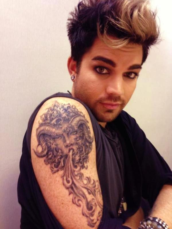 Tattoo 6 2012 greek mythology astrological tattoo for Adam lambert tattoos