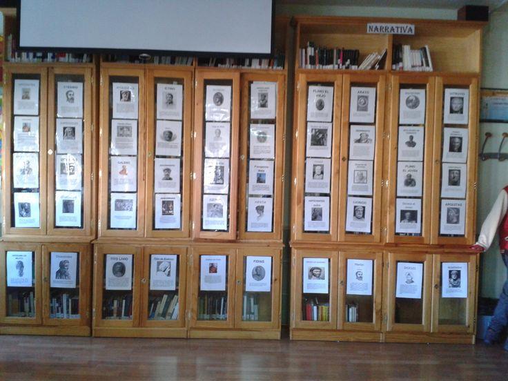 DÍA DE LAS CIENCIAS 2014. Exposición organizada por el Departamento de Latín sobre los primeros científicos de la Antigüedad Clásica