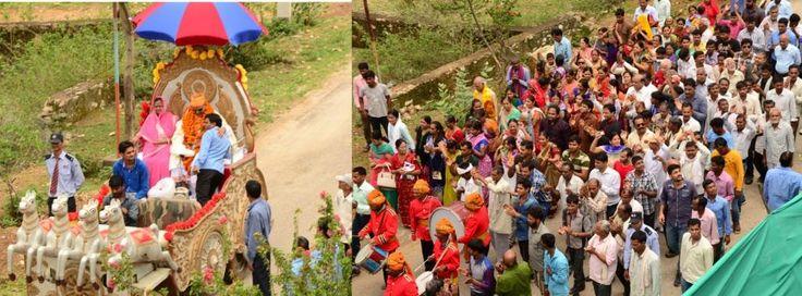 Guru Purnima Celebrated with great enthusiasm at Narayan Seva Sansthan  #GuruPurnima #guru #celebration #NGO #charity #welfare