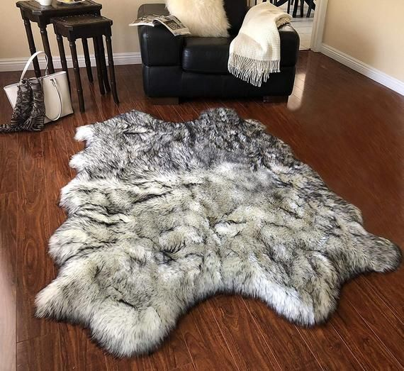 2x3ft Shaggy Animal Skin Shape Area Rug Faux Fur Carpets For Holiday Decoration Part Supply C Fur Carpet Fur Rug Living Room Rugs In Living Room