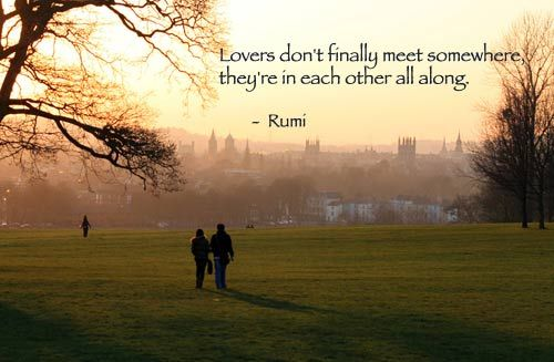 Google Image Result for http://www.shortpoems.org/poets/rumi/rumi-lovers-don%27t-meet-oxford-photo.jpgMeeting Somewh, Inspiration, Soul Mates, Final Meeting, Facebook Status Wheth, Rumi Quotes, Living, Shakespeare Quotes, Love Quotes