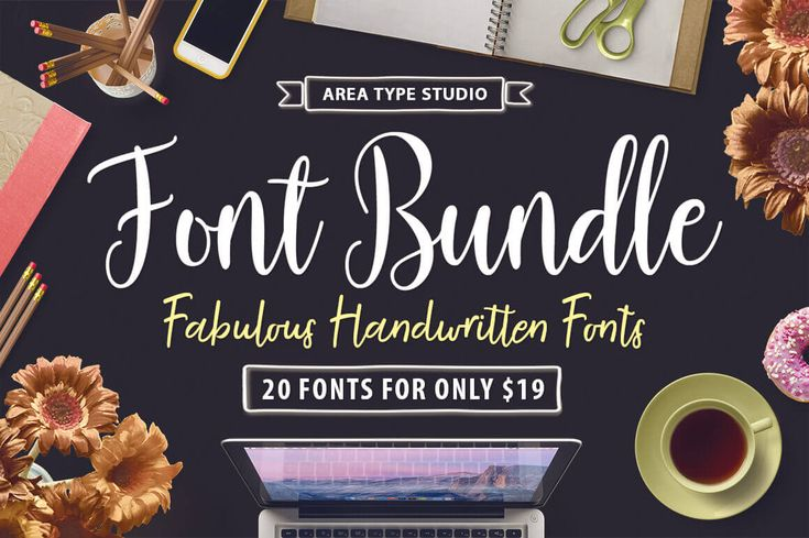 Need some new life in your font collection? Then look no further! This Mighty Deal from Area Type Studio features 20 professional handwritten fonts that are the perfect choice for everything from wedding invitations to posters. With multilingual support, encoded characters and plenty of OpenType Features, you're getting a massive bargain at basically less than $1 per font!