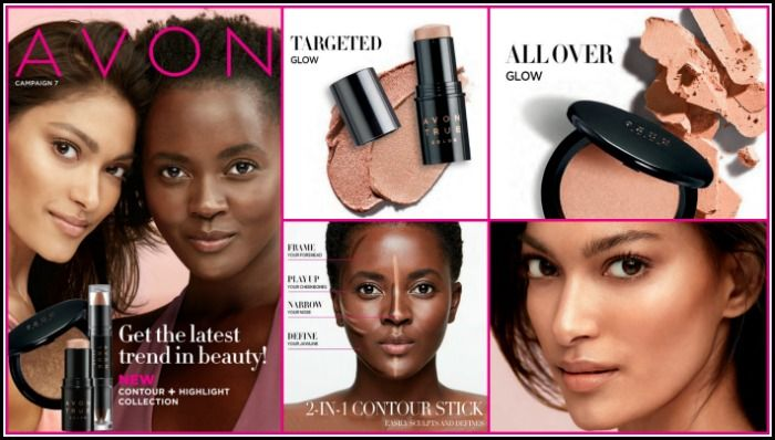 Campaign 7 is going on now at my Avon store. I am excited to finally have this new Contour and Highlight Collection in the Avon True Color collection available for sale to my customers. I have personally tried these products when they were introduced to Avon representative recently and I love all three. They are easy to apply, blend easily and leave a silky smooth finish on your complexion. The Avon True Color 2-in-1 Contour Stick *available in shades) makes sculpting and defining your face…