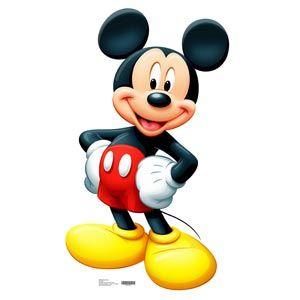 "Mickey Mouse Cardboard Standups. (42"" High)"