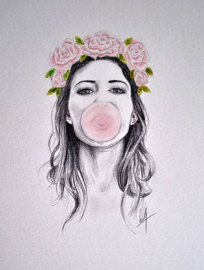 Bubble Art Print by Libby Watkins