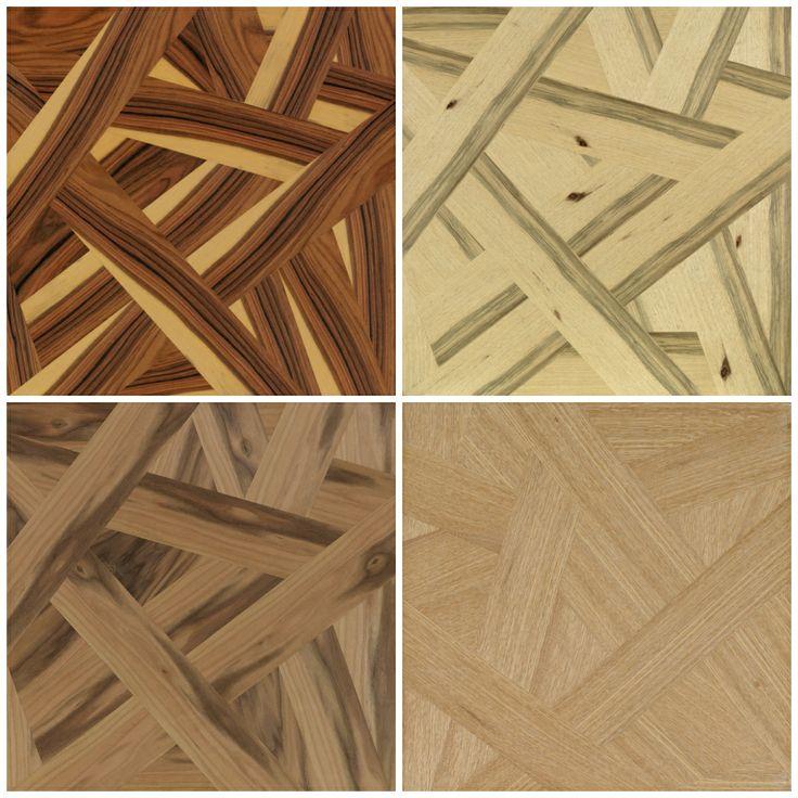 Paneles decorativos de madera originales. Pauferro, limba, nogal y roble