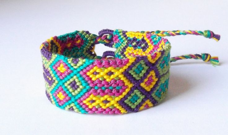 embroidery string bracelet designs - Google Search