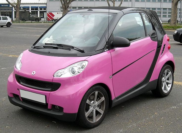 Mercedes SMART ForTwo (Pink)