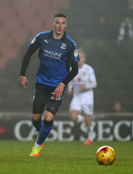 Lloyd Jones of Swindon Town in action during the Sky Bet League One match between Milton Keynes Dons and Swindon Town at StadiumMK on December 30, 2016 in Milton Keynes, England.