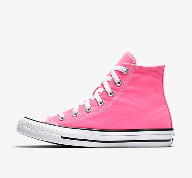 0f0b70596ac New Converse Womens Knockout Hot Pink Taylor All Star High Top Suede Shoes  Sz 9  Converse  Comfort