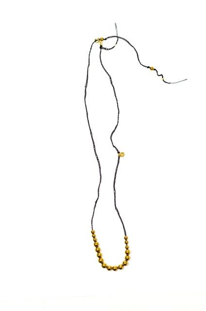 golden hematite beads
