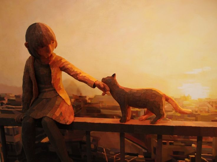 Artist Shintaro Ohata blends sculptures and paintings to create 3D artworks | Creative Boom