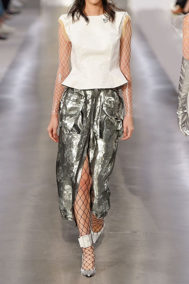Metallic jacquard skirt | MAISON MARGIELA | Sale up to 70% off | THE OUTNET