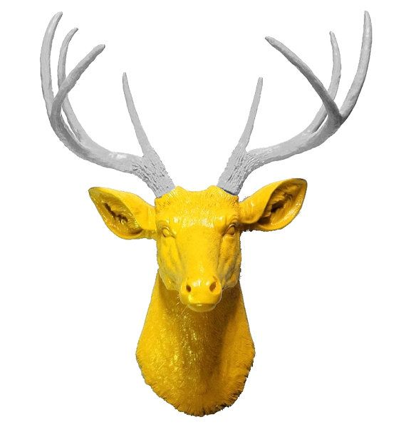 58 best Fake deer heads images on Pinterest | Faux taxidermy, Deer ...