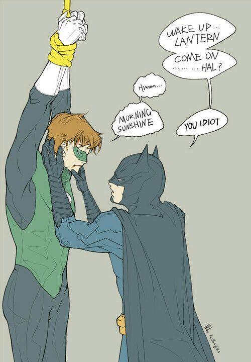 Batman Álbum (Yaoi) - BatLanter: Bruce Wayne x Hal Jordan