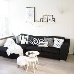 scandinavian black couch - Google Search