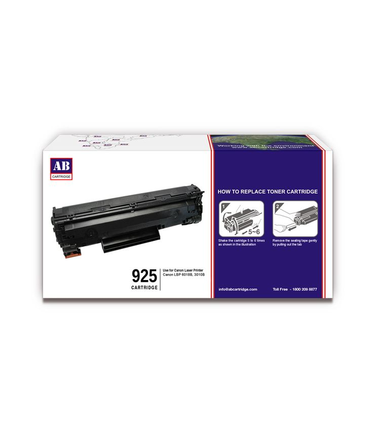 Loved it: AB 925 Black Toner Cartridge / Canon 925 Black Toner Cartridge Compatible For Canon LBP 6018B, 3010B, http://www.snapdeal.com/product/ab-925-black-toner-cartridge/1105197202