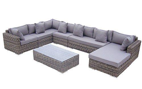 Baidani Rattan Lounge-Garnitur Perfection aus der Collection Ronde Jetzt bestellen unter: http://www.woonio.de/produkt/baidani-rattan-lounge-garnitur-perfection-aus-der-collection-ronde/