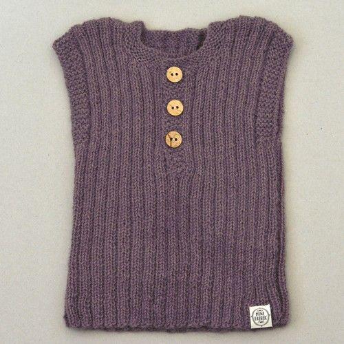 Débardeur Lily & Lars  Débardeur classique qui peut être porté par exemple lors d'une journée d'été fraîche ou l'hiver à l'intérieur ou sous une veste. Tricoté main. 100% laine d'alpaga.  Couleur: Vieux rose.