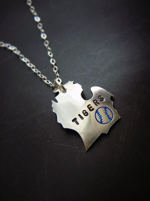 Baseball Season State Pendants in Sterling Silver by sprout1world, $30.00.....different state and team of course!