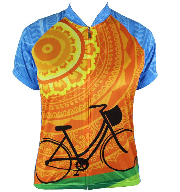 Dreamscape Women's Cycling Jersey - FREE SHIPPING - http://www.cyclegarb.com/83-sportswear-cycling-jerseys.html
