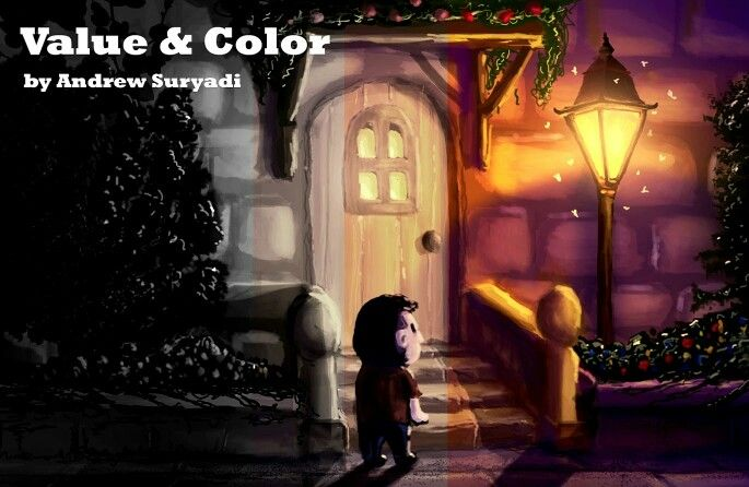 A short article about value &  color,  available at www.mementoanimation.com tutorials section