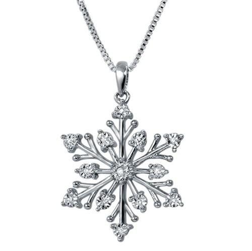 I won't lie, but I love snowflake jewelery, especially
