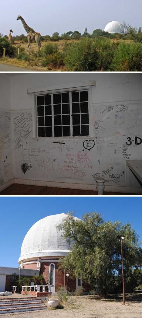 Lamont-Hussey abandoned observatory Bloemfontein South Africa