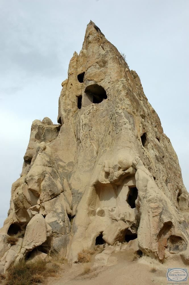 The Cave City of Cappadocia, Turkey has some fascinating sights. From volcano formations, to rock cones, the landscape is breathtaking. The underground cities will truly take your breath away. Winding paths, some barely high enough to crawl through, were built as escape routes during Hittite, Roman and Byzantine periods. #CoxandKings