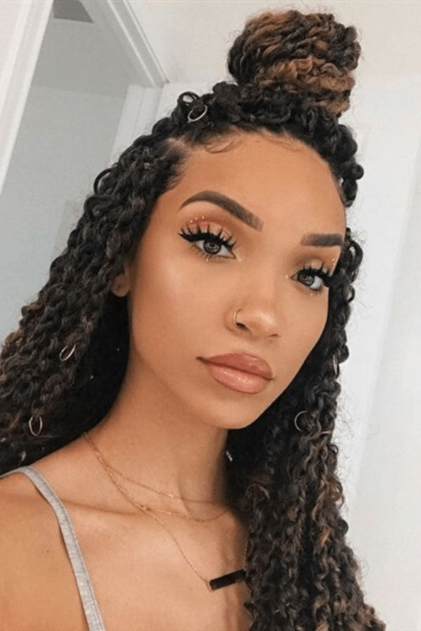 50 Stunning Passion Twists Hairstyles Curly Girl Swag Box Braids Hairstyles Twist Braid Hairstyles Twist Hairstyles