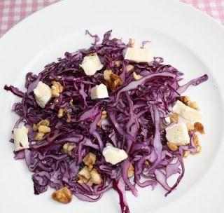 Gezond leven van Jacoline: Rodekool salade