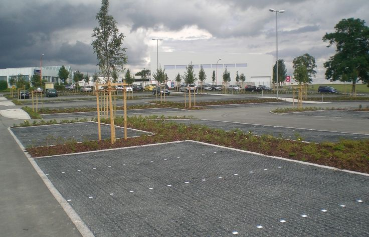 green way pavements ecoraster permeable paving as parking space for cars parking regional. Black Bedroom Furniture Sets. Home Design Ideas