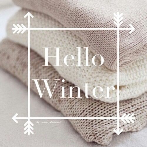 hello #winter..looks like you've arrived