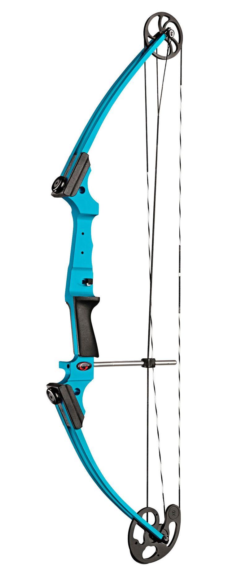 Genesis Original | Genesis® Bow #bbarchery #blue #archeryinschools #archery