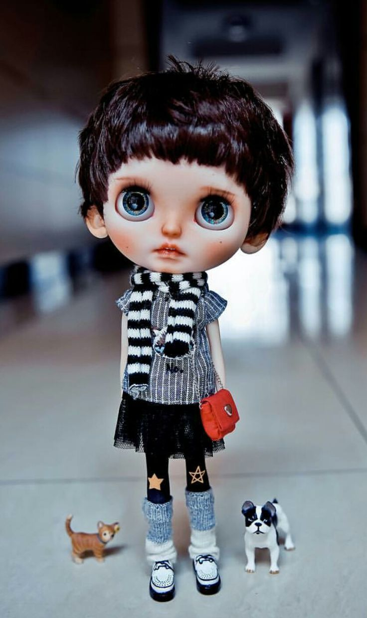 Check the online directory for Blythe doll customizers at http://www.dollycustom.com