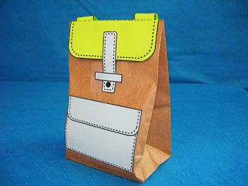 151 best craft ideas images on pinterest preschool for Brown paper bag crafts for preschoolers